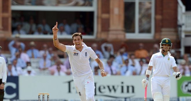 Steven Finn: finished with 4-74 as England bowled South Africa out on day four