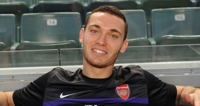 Thomas Vermaelen: The centre-back succeeds Robin van Persie as Arsenal's skipper