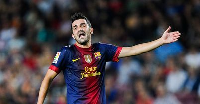 David Villa: Will remain at Barcelona, says coach