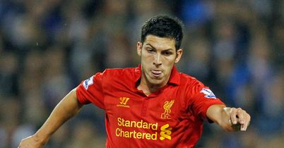 Dani Pacheco: Has headed through the Liverpool exit door
