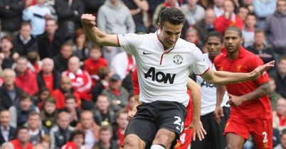 Van Persie: Strokes home winning penalty at Anfield