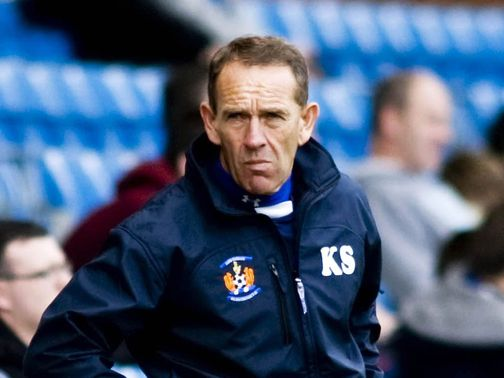 Kenny Shiels: Handed a four-match ban