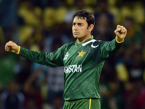 Saeed Ajmal: Will play for Hampshire in 2013