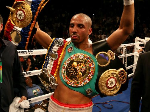 Andre Ward: Has put back his planned fight