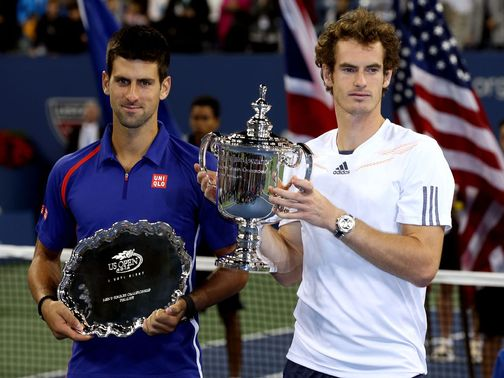 Murray beat Djokovic at last year&#39;s US Open to win his first Grand Slam title