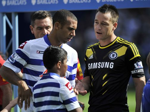 Ferdinand refuses to shake hands with Terry on Saturday