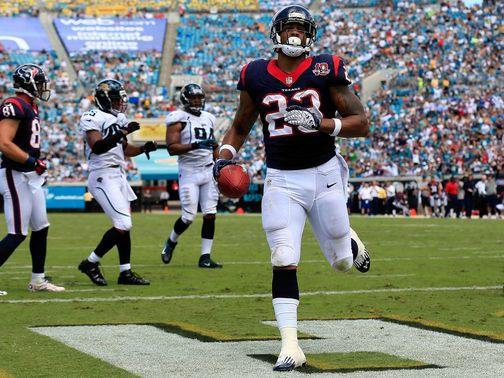 Arian Foster: Touchdown for Houston