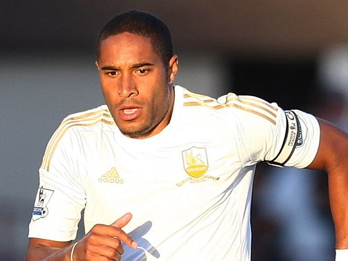 Ashley Williams: Battling to overcome an ankle injury
