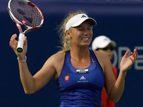 Caroline Wozniacki: Eased through in straight sets