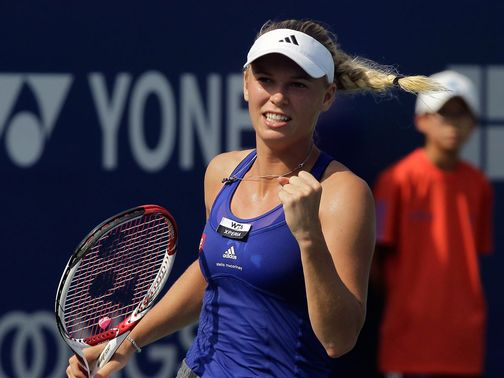 Caroline Wozniacki: Into the final
