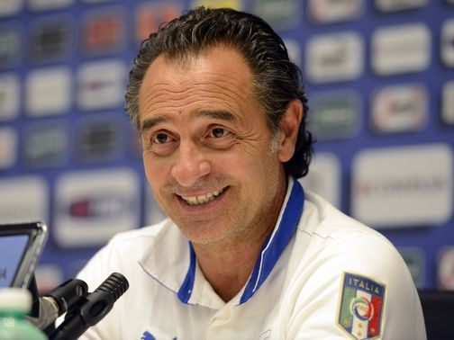 Cesare Prandelli's men will face Brazil