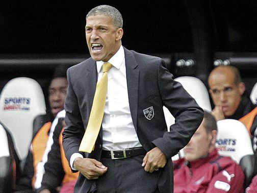 Chris Hughton: Takes his side to Everton this weekend