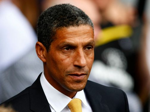 Chris Hughton: Prepares for Liverpool clash