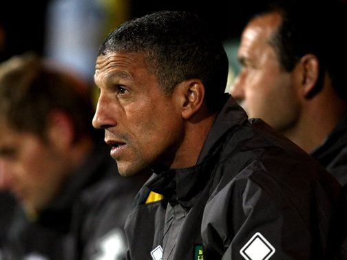 Hughton's side have scored just 11 goals in 14 games
