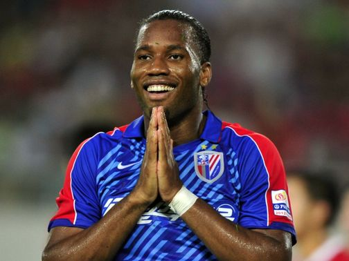 Didier Drogba: Reports suggested striker is to join Juventus