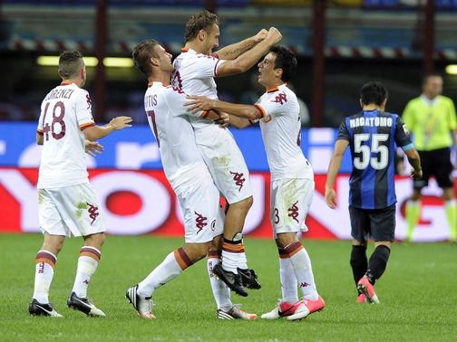 Roma have been awarded a victory