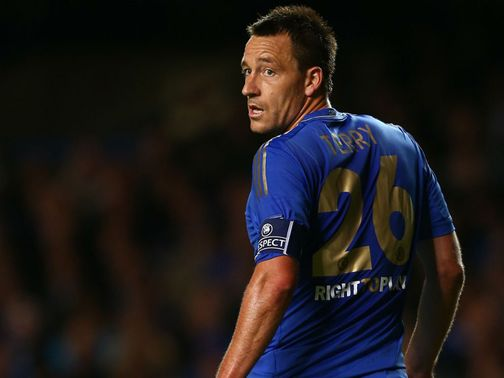 John Terry: Handed ban for four matches