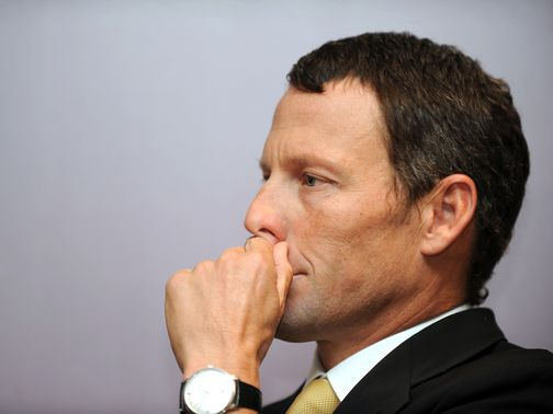 Armstrong: Stripped of his Tour de France titles