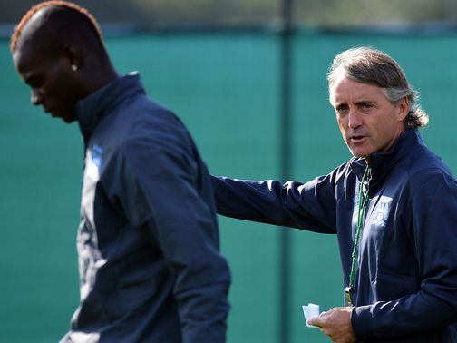 Mancini is pleased Balotelli showed 'respect'.