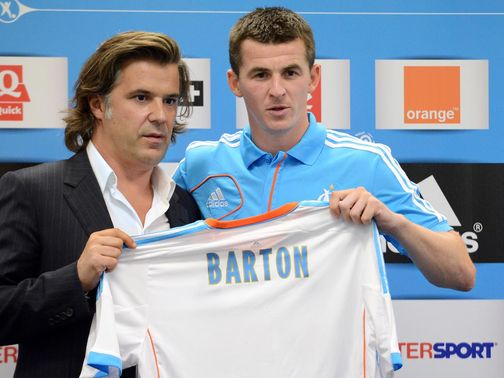 Joey Barton: Has joined Marseille