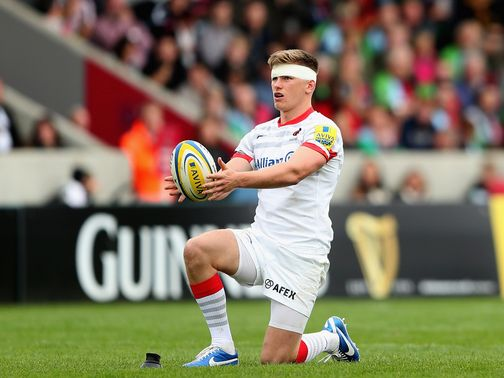Owen Farrell: Lancaster has 'no problem' with the Saracens star