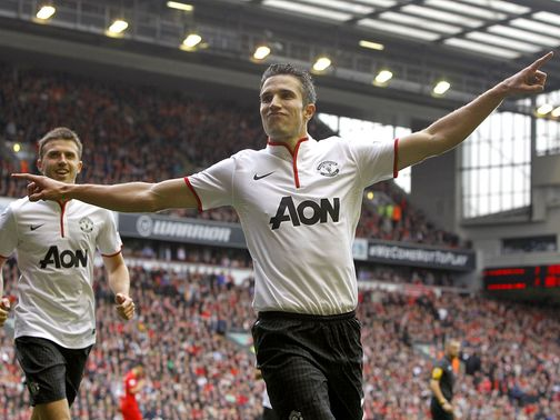 Robin van Persie: Backed by Sir Alex Ferguson