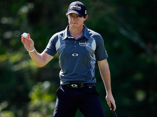 Rory McIlroy: Carded a second 65