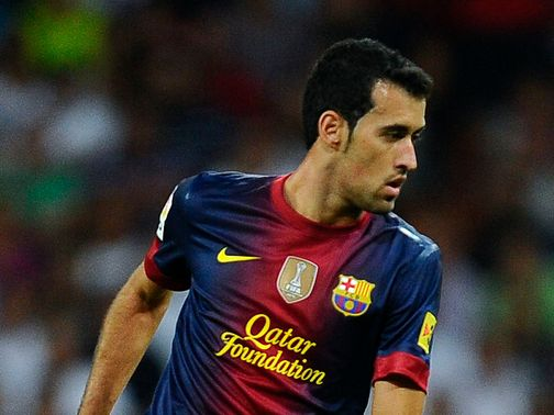 Busquets: Saw red in 2-0 victory