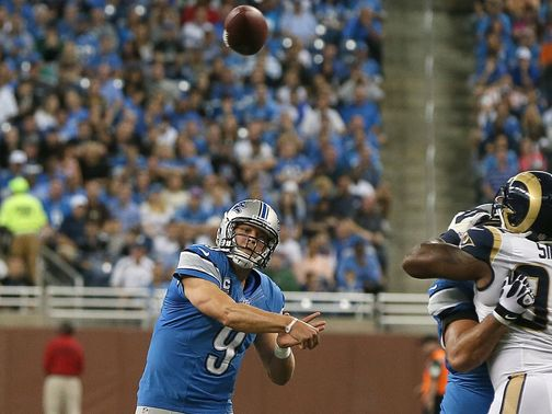 Matthew Stafford: Recovered from a shaky start