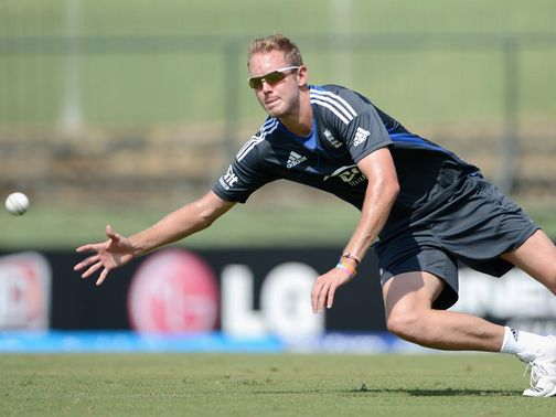 Stuart Broad: Backing his batsmen