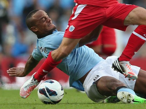 Vincent Kompany: Unfazed by goals conceded