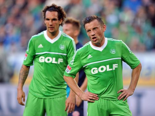 Woe for Wolfsburg duo Emanuel Pogatetz and Ivica Olic.