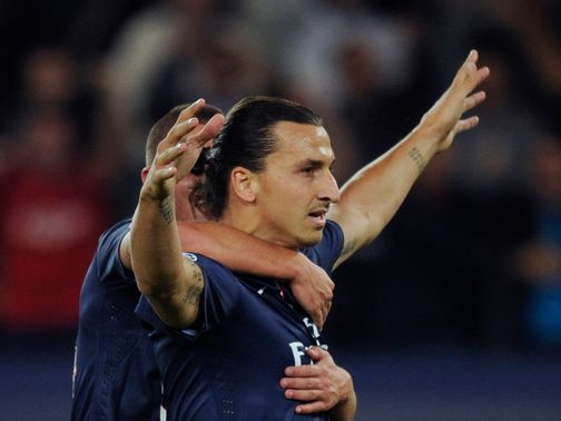 Ibrahimovic: Scored for PSG