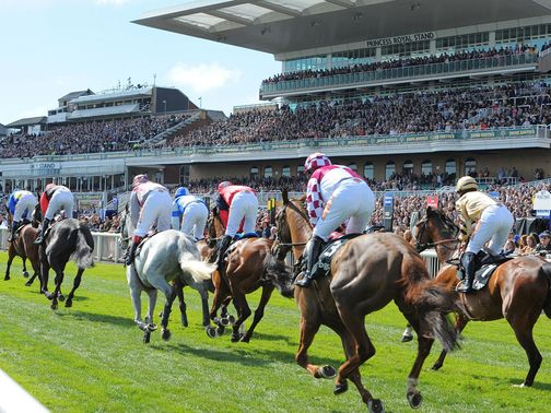Aintree: Huge crowds at Grand National fixture