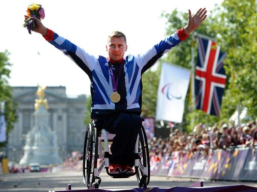 David Weir: Recognised with a CBE
