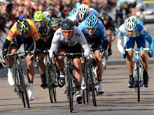 Mark Cavendish: Sprinted to stage four victory