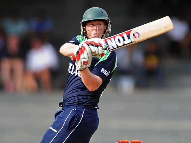 Kevin O'Brien: Starred with bat and ball for Ireland