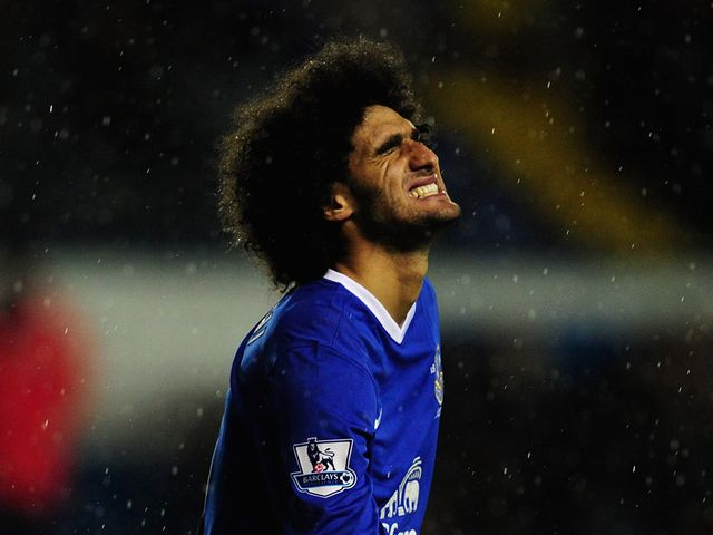 Marouane Fellaini: Could be heading to Stamford Bridge