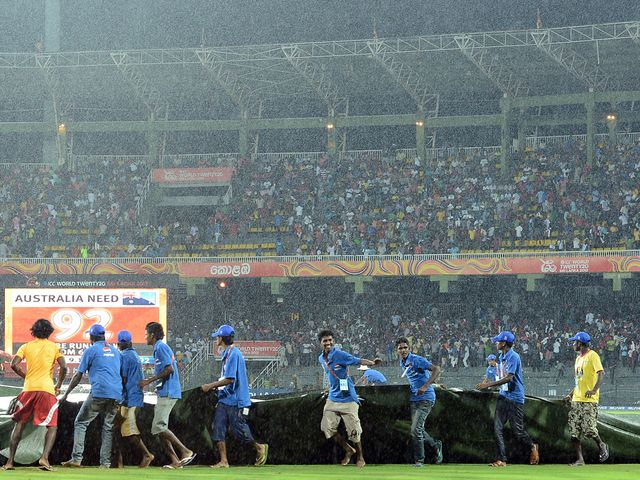 Rain cut short proceedings in Colombo
