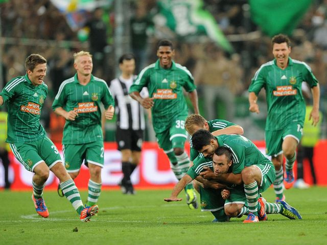 Rapid Vienna: Hoping to register a point