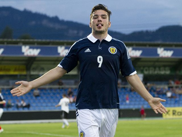Tony Watt: On target in friendly win