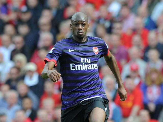 Diaby: Not yet match-fit