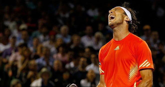 Juan Monaco: world number 10 made first-round exit at Valencia Open