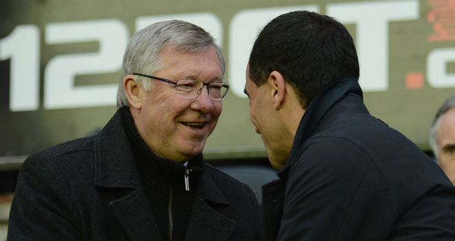 Sir Alex Ferguson: Praised Roberto Martinez ahead of the clash with Wigan on Saturday