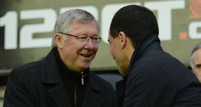 Sir Alex Ferguson: Praised Roberto Martinez ahead of the clash with Wigan on Saturday