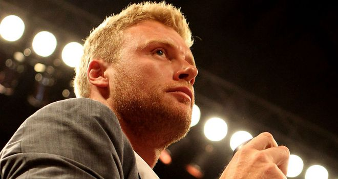 Andrew Flintoff: Planning to a career as a boxer