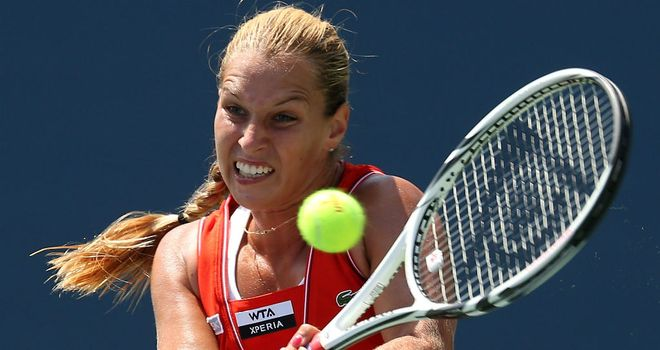 Dominika Cibulkova: Recovered from losing the first set against Ekaterina Makarova