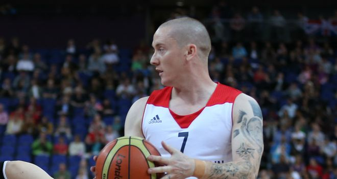 Terry Bywater: leading Great Britain scorer with 19 points