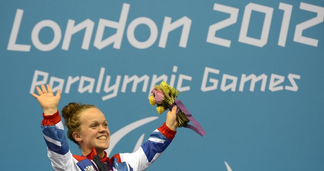 Ellie Simmonds: second world record of the day in the SM6 200m IM