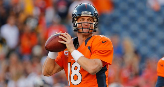 Peyton Manning: Reached 400 career touchdowns